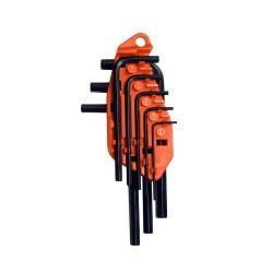 Set de chei locas hexagonal in mm 8 buc Stanley