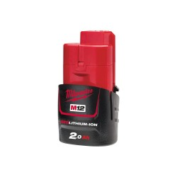 Acumulator REDLITHIUM-ION™ Milwaukee® M12™ M12B2 12V, 2.0Ah