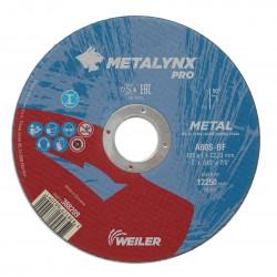 Disc abraziv 125x1.0 mm debitare metal Metalynx Pro