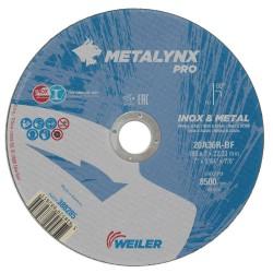Disc abraziv 180x2 mm debitare inox Metalynx Pro