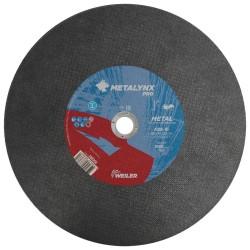 Disc abraziv 350x4mm pentru cale ferata, metal, Metalynx Pro