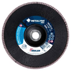 Disc lamelar 180 mm, granulatie 60 polizare metal si inox...