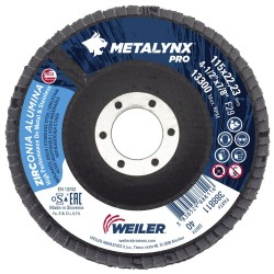 Disc lamelar 115 mm, granulatie 40 polizare metal si inox...