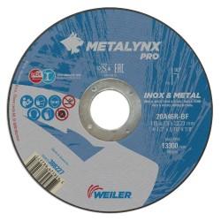 Disc abraziv 115x1.6 mm debitare inox Metalynx Pro