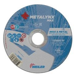 Disc abraziv 115x1.0 mm debitare inox Metalynx Max