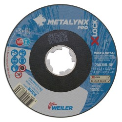 Disc abraziv 115x2.5 mm debitare metal+inox X-LOCK...