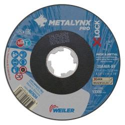 Disc abraziv 115x1.6 mm debitare metal+inox X-LOCK...