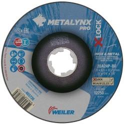 Disc abraziv 115x6.5 mm polizare metal+inox X-LOCK...