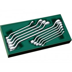 Set chei inelare duble 6-27mm, 10 piese, Sata 09905