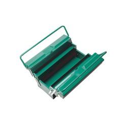 Cutie metalica pentru scule, 5 compartimente, Sata SA95104A