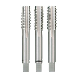 Set 3 tarozi pentru filetare manuala Ruko DIN 352 HSS 1/2''