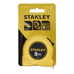Ruleta 5m Stanley in blister de plastic
