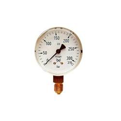 Ceas manometru Oxigen 315/200 bar, GCE