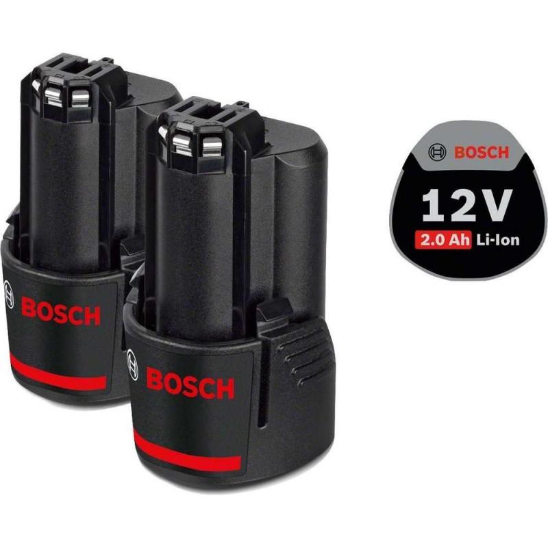 Set 2 acumulatori Bosch 12V Li-ion 2.0 Ah GBA 12V